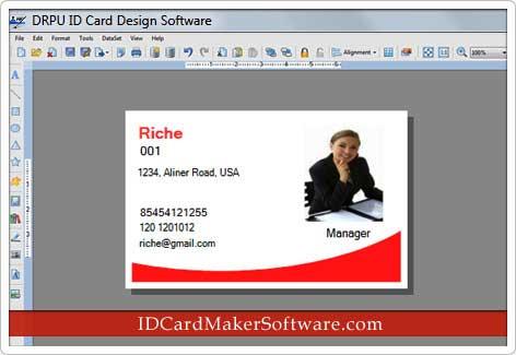 Windows 7 ID Card Maker Software 8.3.0.1 full